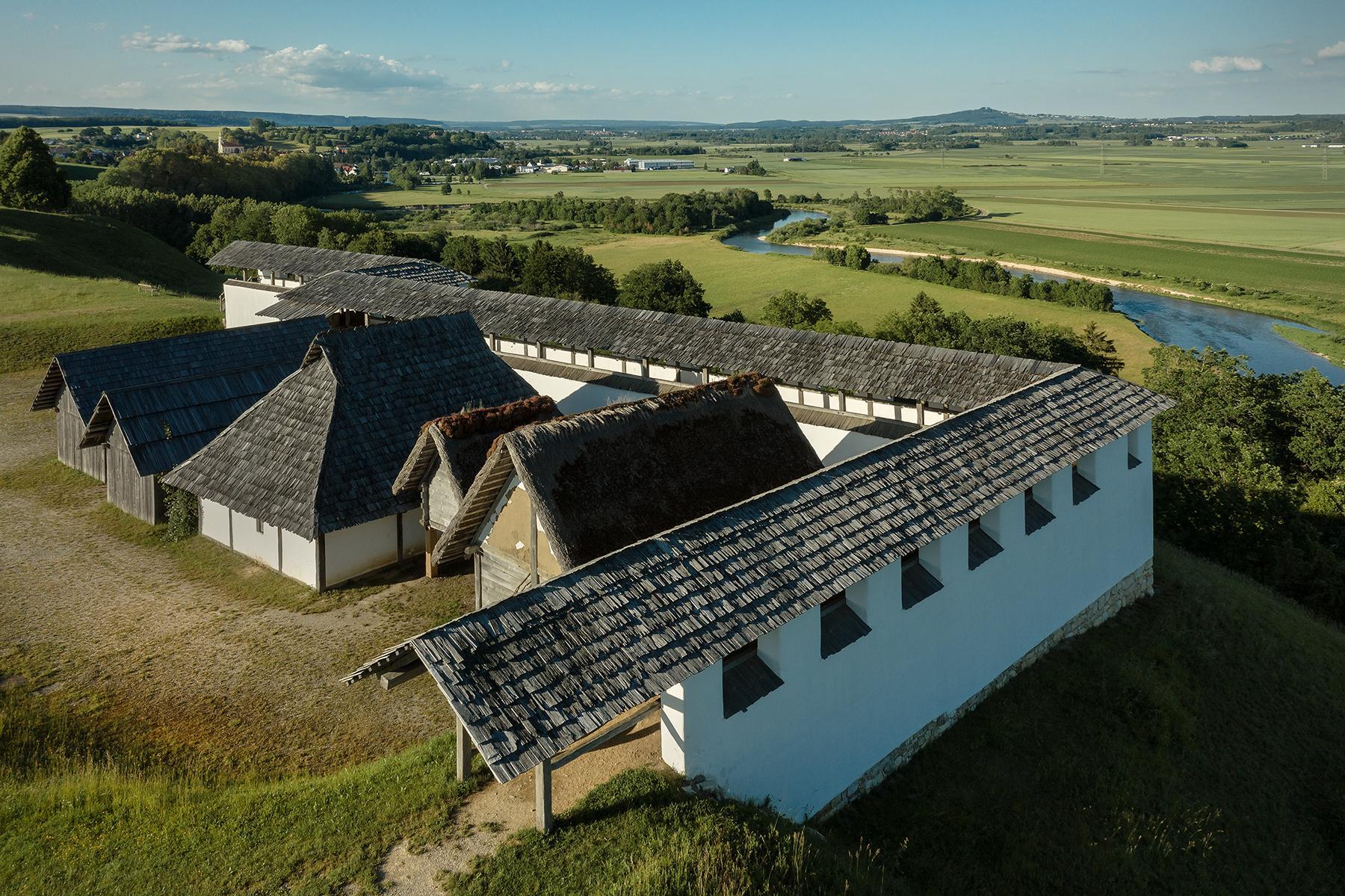 Heuneburg, Luftaufnahme