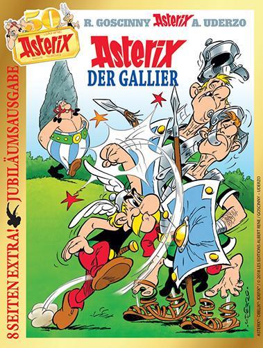 Jubiläumsausgabe - 50 Jahre Asterix in Deutschland
