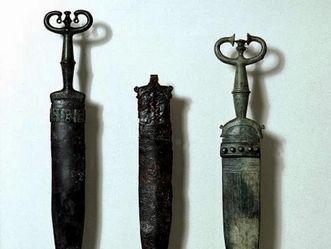 Archäologische Funde: Keltische Schwerter, Heuneburg