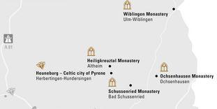 "journey map ""Upper Swabia & Ulm"""