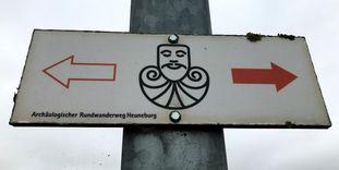 Heuneburg - Stadt Pyrene; Herbertinngen Rundwanderweg Heuneburg