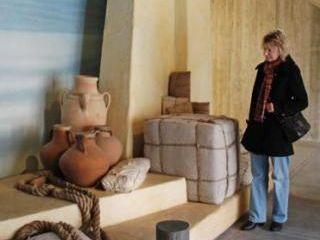 Keltenmuseum Heuneburg, Mittelmeerszene