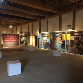 Heuneburg – Stadt Pyrene, Ausstellung im Herrenhaus