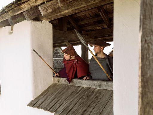 Heuneburg – Stadt Pyrene, Impression des Keltenfestes